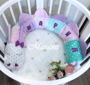 Пример бортиков для новорожденных