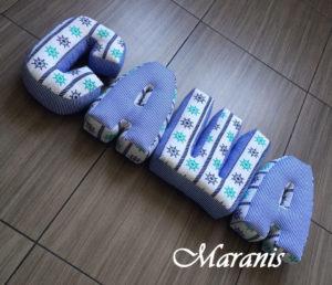 буквы подушки саша