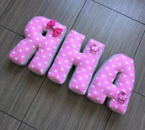 буквы подушки Яна