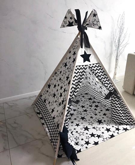 Вигвам для детей «Черна звезда»