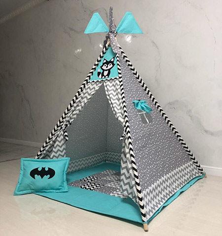Вигвам для детей «Супергерой»