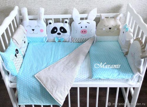 одеяло для новорожденного своими руками1