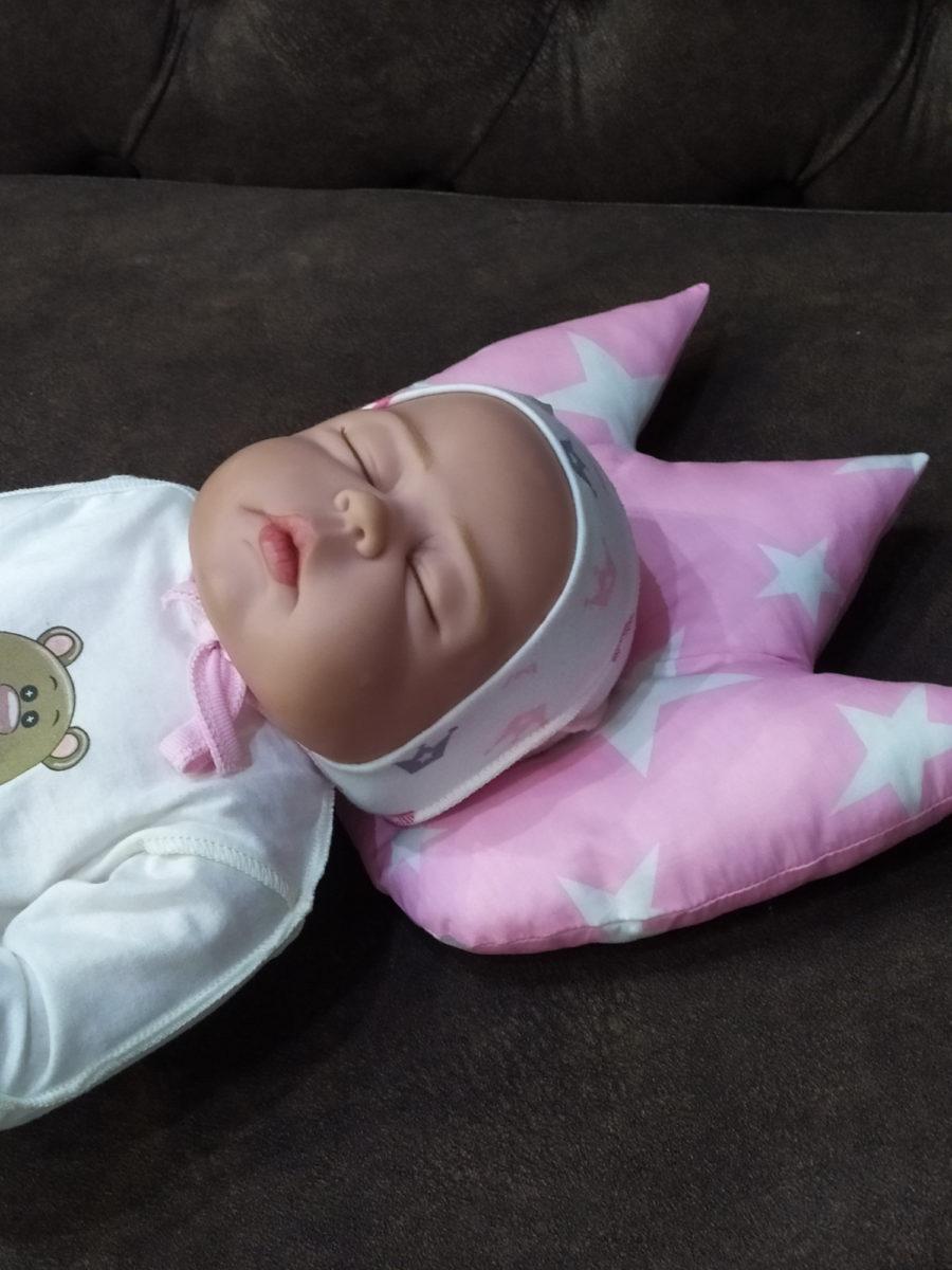 Подушка для новорожденных корона