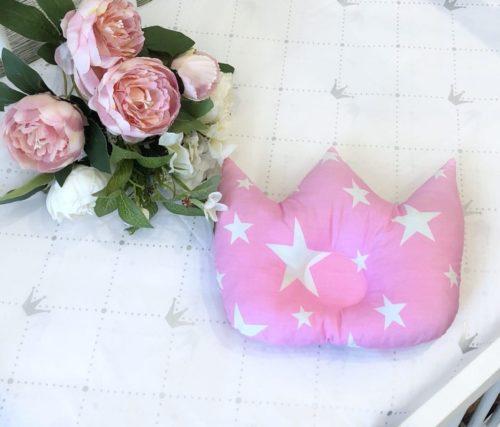 Подушка для новорожденных корона / арт. 8