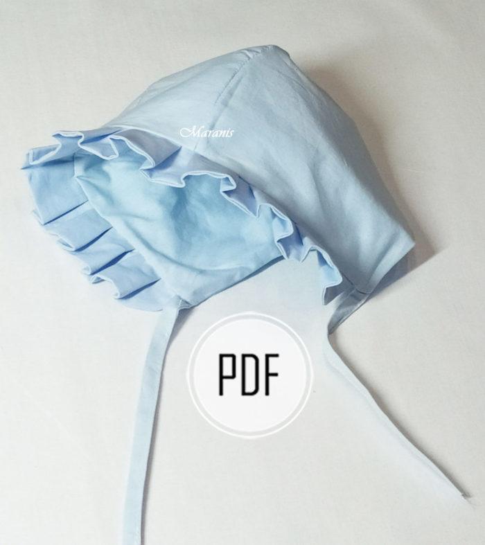 сшить шапочку для новорожденного