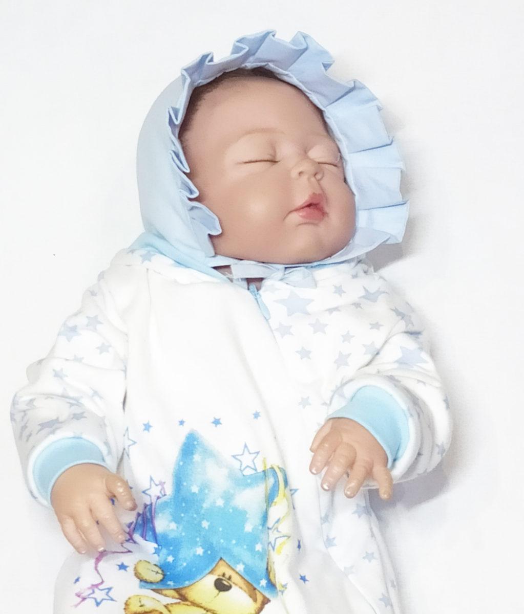 Чепчик для новорожденного своими руками + выкройка.