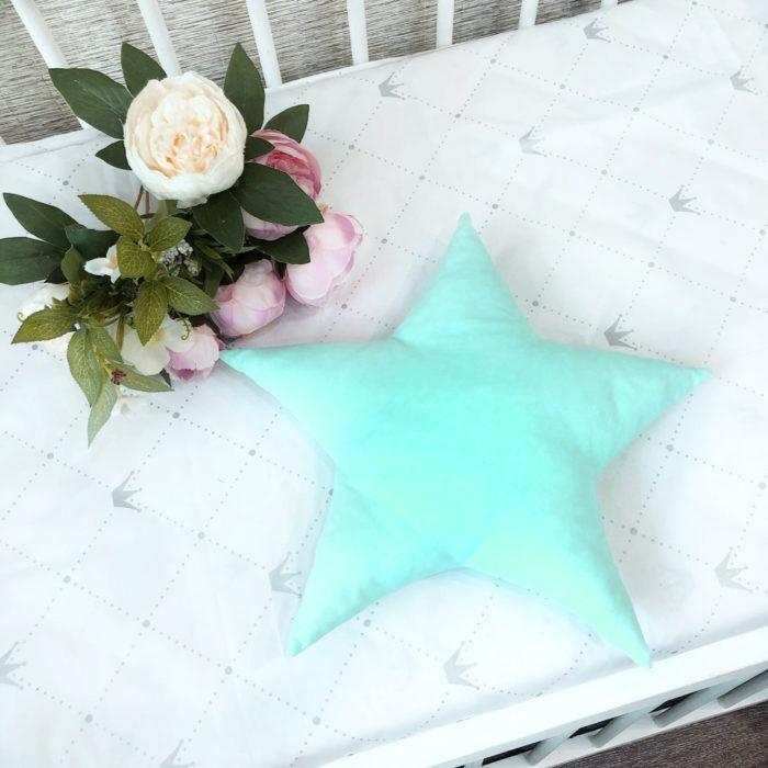 Подушка звезда выкройка