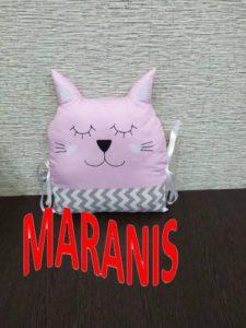 Подушка кошка своими руками 28