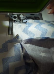 we sew the letter