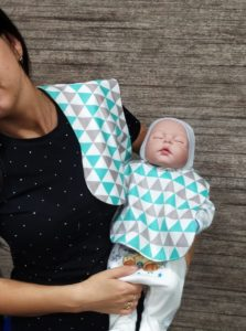 baby bib pattern ready