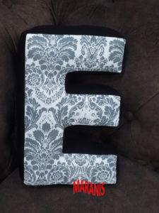 sewn a pillow letter