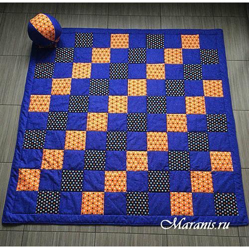 Лоскутное одеяло для мальчика / арт.008