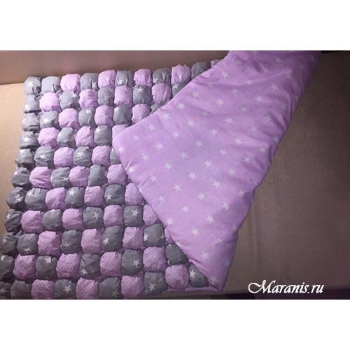 Одеяло бомбон в кроватку 120 x 60