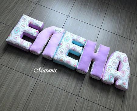 Подушки буквы / арт. 34