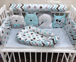 Нужен ли кокон гнёздышко для новорожденных 2