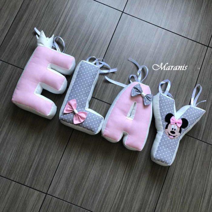 Подушки буквы elay фото