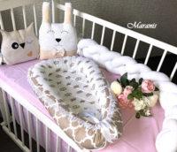 кокон гнёздышко для новорожденных фото