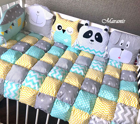 Одеяло в стиле бомбон фото