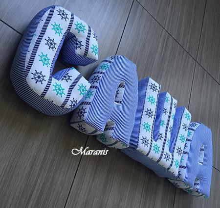 Подушки буквы саша фото