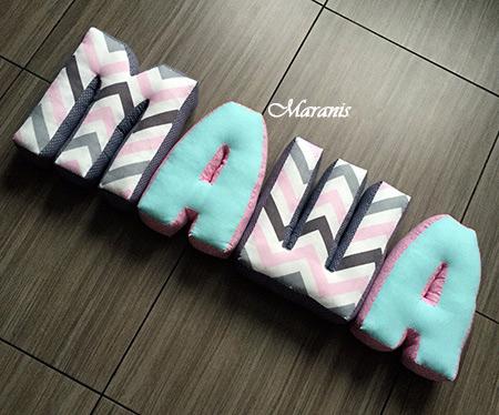 Подушки буквы Маша фото