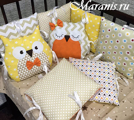 Подушка сова купите от производителя компании Маранис