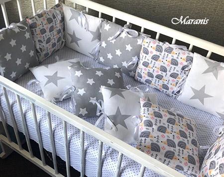 Бампера на кроватку от Маранис