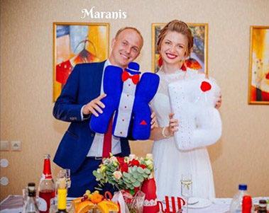 Буквы подушки к свадьбе фото