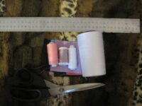 Материалы для пошива буквы подушки