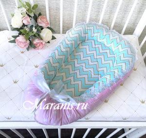 Кокон для новорожденных готовое изделие