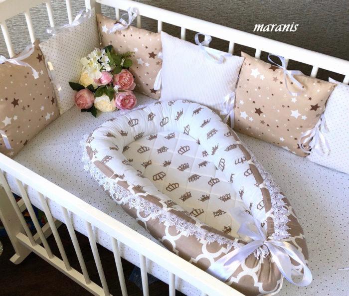Кокон гнездо для новорожденных в Москве
