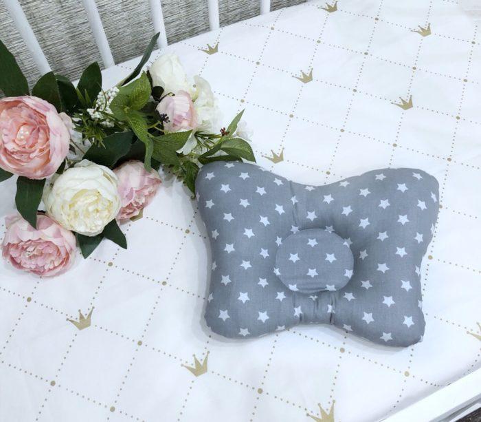 Подушка для новорожденных / арт. 7 анатомическая от Маранис