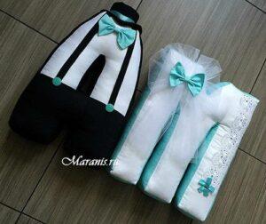 Свадебные буквы подушки